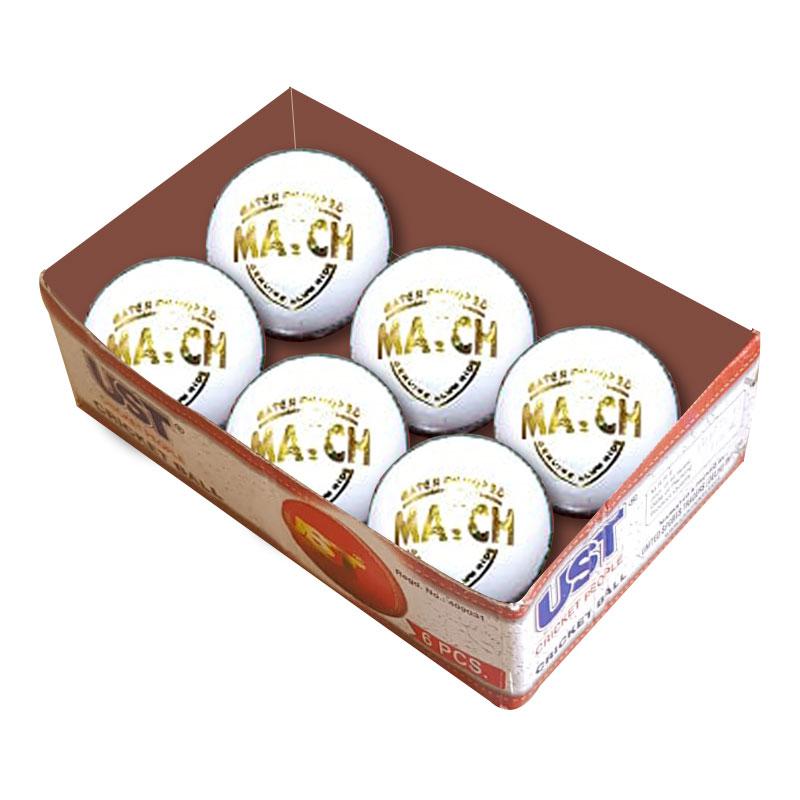 UST White Cricket Ball